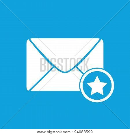 Favorite letter icon