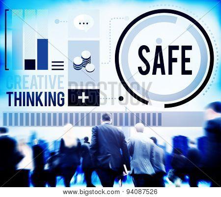 Safe Saving Protection Security Security Lock Concept