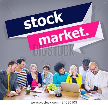 Stock Market Economic Finance Exchange Concept