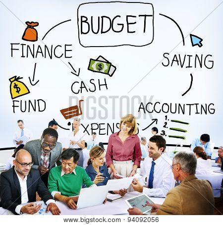 Budget Finance Cash Fund Saving Accounting Concept