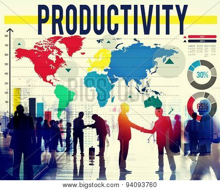Productivity Efficiency Performance Results Concept