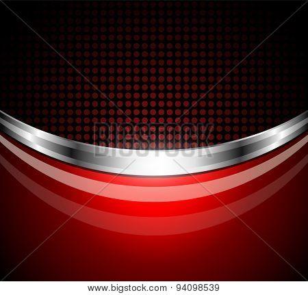 Business background red;  elegant vector illustration.