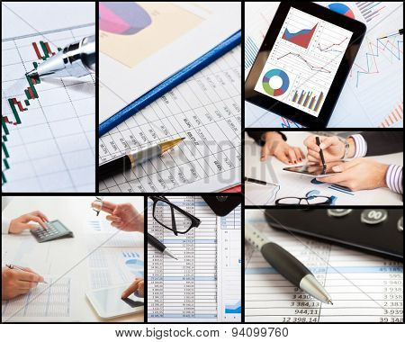 Details of financial and accounting related images