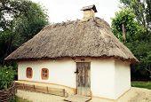 image of kiev  - Traditional old ukrainian rural house in park Pirogovo - JPG