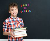 image of classroom  - Back to school concept - JPG