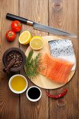 image of condiment  - Salmon - JPG