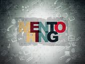 stock photo of mentoring  - Learning concept - JPG