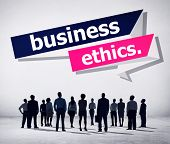 pic of integrity  - Business Ethics Integrity Honesty Trust Concept - JPG