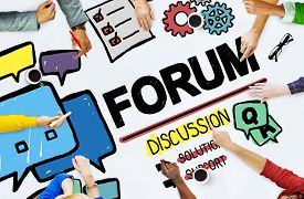 image of chat  - Forum Chat Message Discuss Talk Topic Concept - JPG