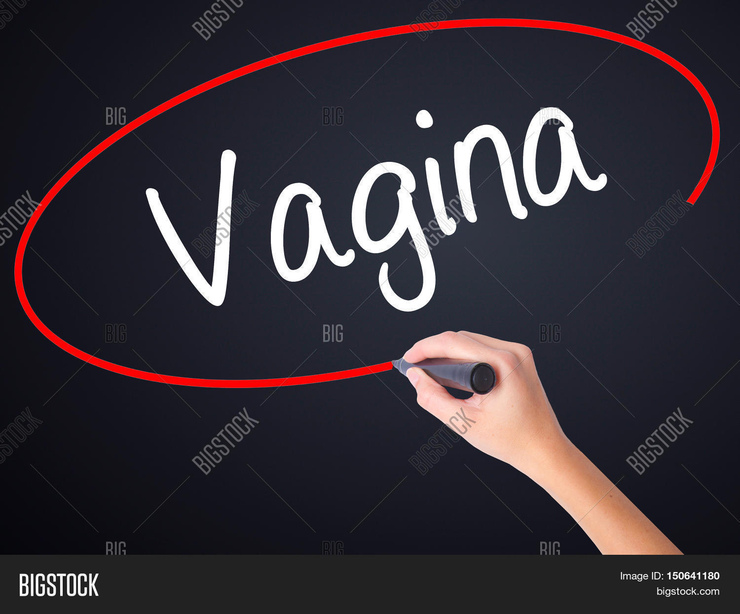 woman with a big vagina