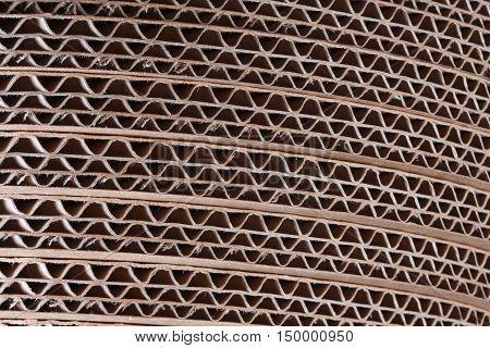 Texture Of Cardboard