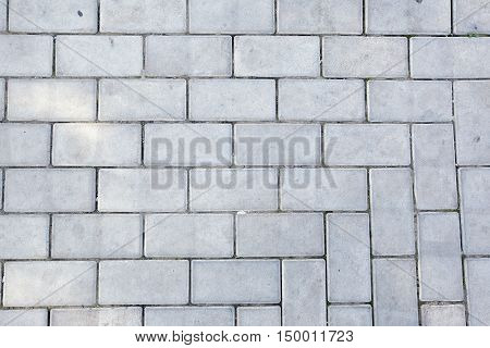 Texture Of The Pavement And Pavers