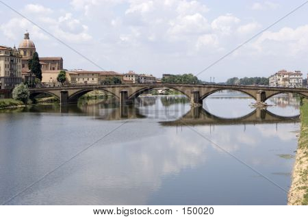 Bridge In Florence Italy