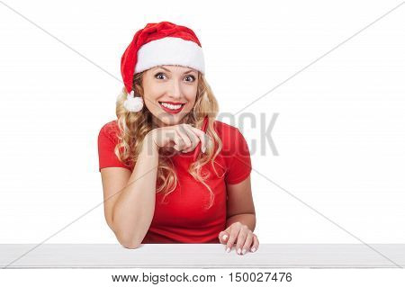 Woman Taking Selfie With Smartphone At Christmas, Xmas Concept Isolated05