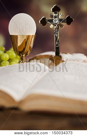 Sacrament Communion, Eucharist Image & Photo | Bigstock
