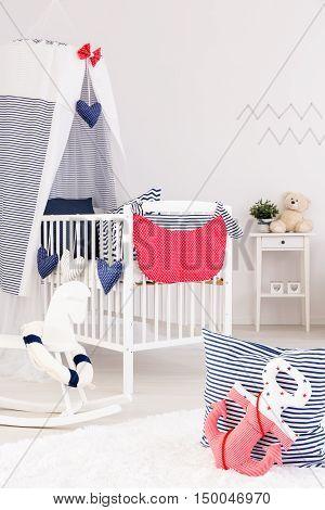 Marine Crib Bedding Set