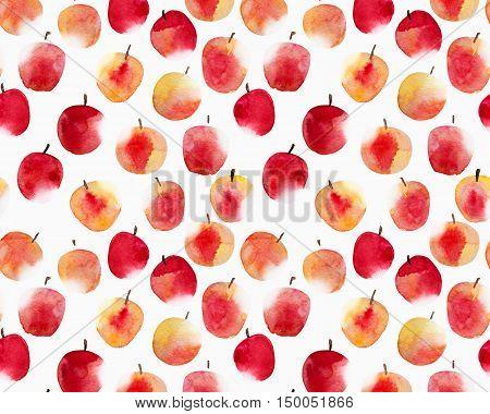 Apples isolated on white backgraund. Harvest background.