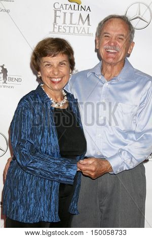 LOS ANGELES - SEP 30:  Ann Muscat, Husband at the Catalina Film Festival - Friday at the Casino on September 30, 2016 in Avalon, Catalina Island, CA