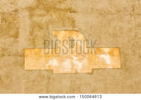 horizontal beige/tan background image  with a design in the middle