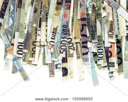 Vintage Euro Note