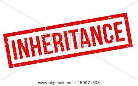 Inheritance Rubber Stamp