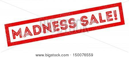 Madness Sale! Rubber Stamp