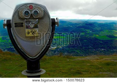 The summit of Mt. Greylock is almost 3500 feet above sealevel and is the tallest point in Massachusetts