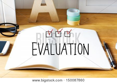 Evaluation Concept With Notebook
