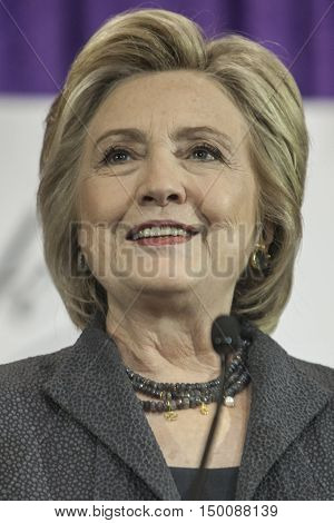 16 September 2016 - WashingtonUSA - Hillary Clinton speaks at Black Women's Agenda Annual Symposium .