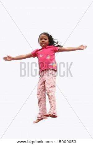 Happy Child Jump