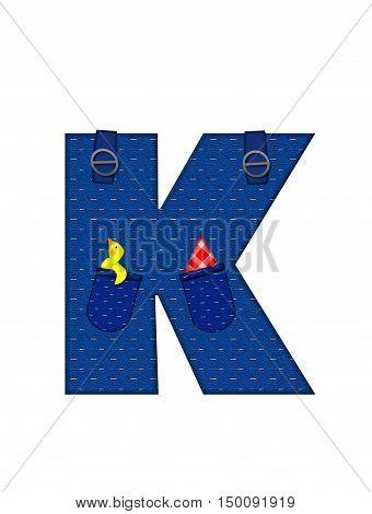 Alphabet Farmer Brown K