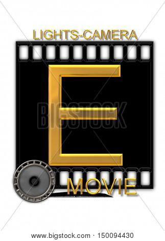 Alphabet Movie Buff E