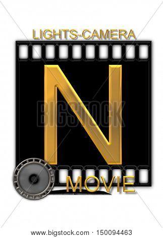 Alphabet Movie Buff N