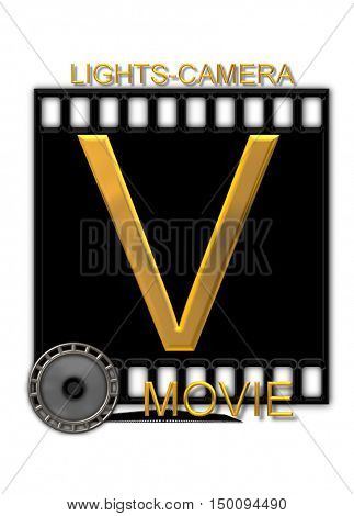 Alphabet Movie Buff V