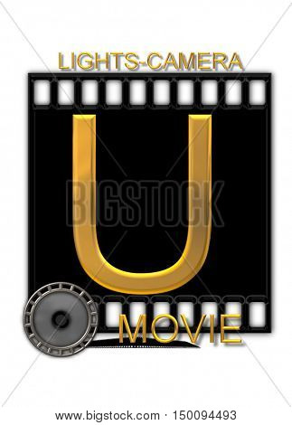 Alphabet Movie Buff U