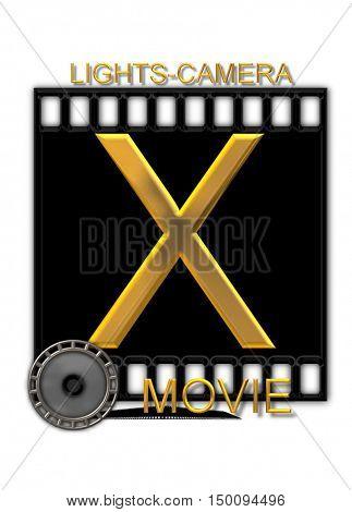 Alphabet Movie Buff X
