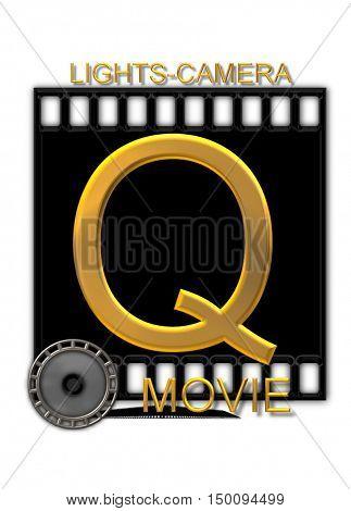 Alphabet Movie Buff Q