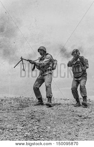 Soviet paratroopers in Afghanistan during the Soviet Afghan War
