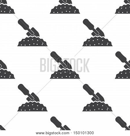 spade icon on white background for web