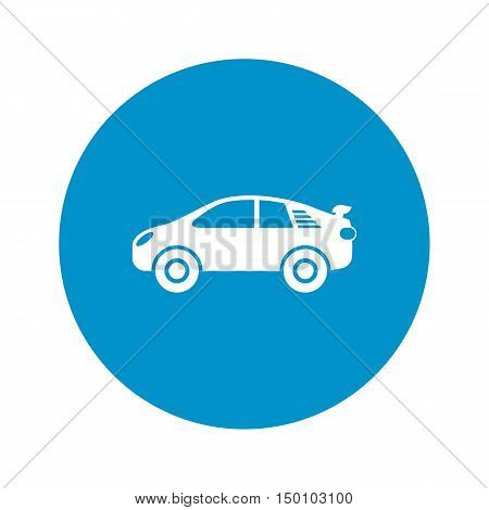 car repair icon on white background for web