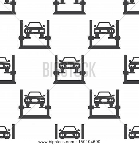 car diagnostics icon on white background for web