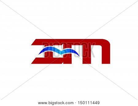 im company logo. im company logo vector design
