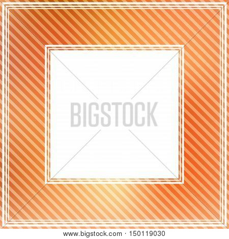 Abstract srtiped border with light red spots.