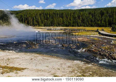 Yellowstone National Park, Wyoming, Usa