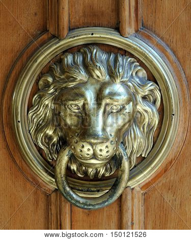 Lion Head Door Knocker Ancient Knocker .