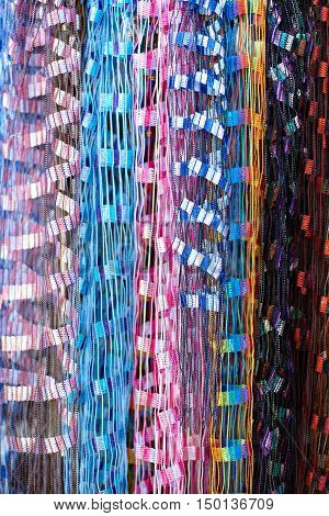 Colourful Fabric Lines