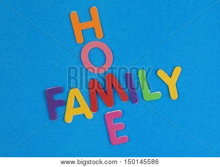 Home and family crossword