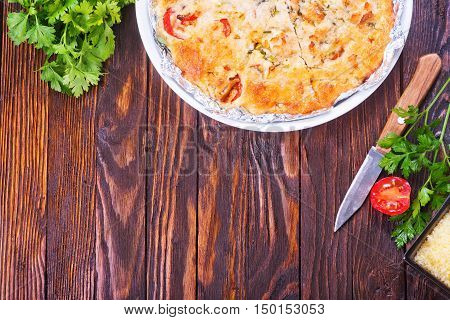 Pie With Meat