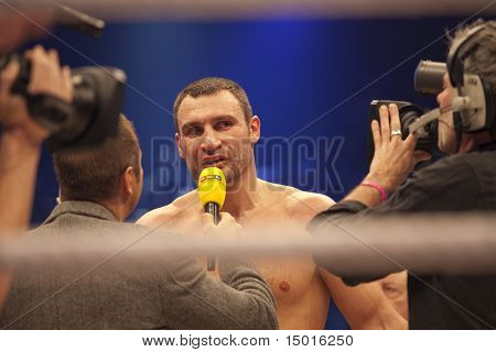 Vitali Klitschko In Ring