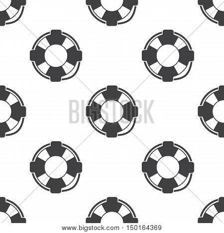 lifebuoy icon on white background for web